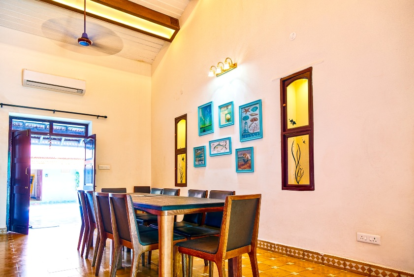 Villas in Goa, Villa Kings, Dining